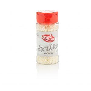 Bakers Choice White Sprinkles
