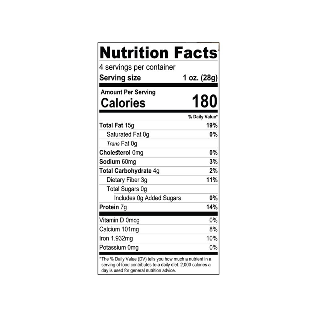 Natural Sesame Seeds Bakers Choice Premium Kosher Baking Ingredients