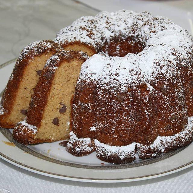 Heavenly Honey and caramel bundt cake.